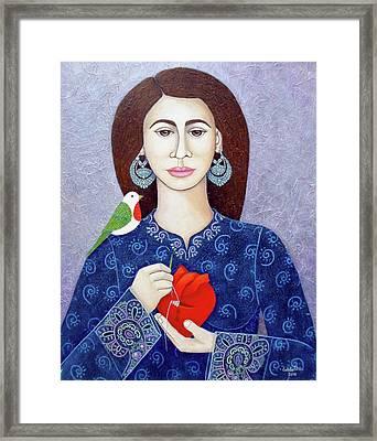 The Restorer Of Wounded Heart Framed Print