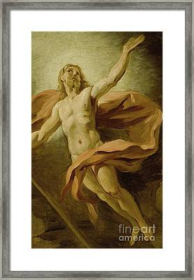 The Resurrection, 1739  Framed Print by Jean Francois de Troy