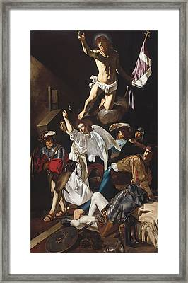 The Resurrection Framed Print by Mountain Dreams