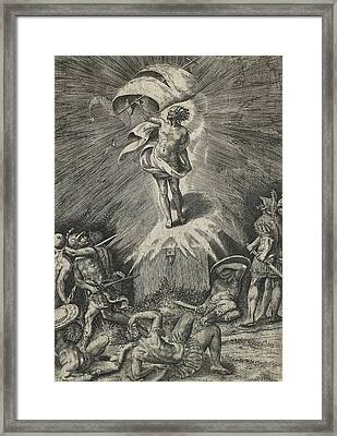 The Resurrection Framed Print by Giulio Bonasone