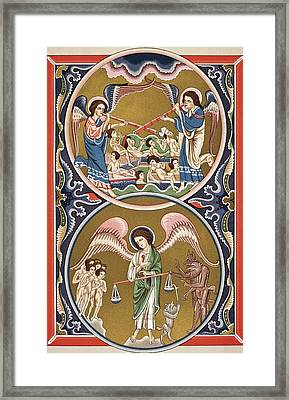 The Resurrection Of The Dead And The Framed Print
