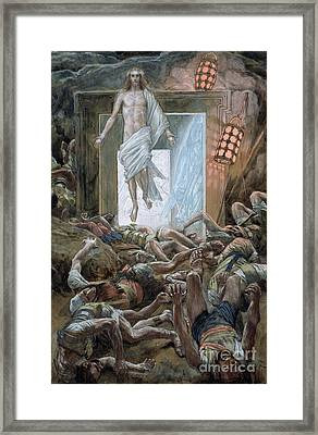 The Resurrection Framed Print by Tissot