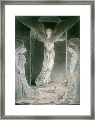 The Resurrection Framed Print by William Blake