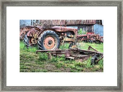 The Retirement Home Framed Print by JC Findley