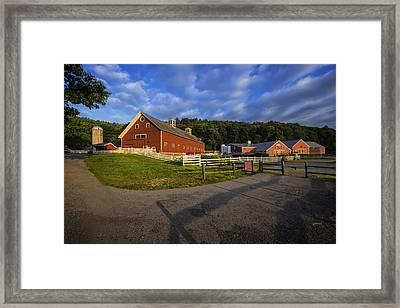 The Retreat Farm Framed Print by Tom Singleton