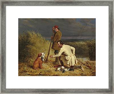 The Retrieve Framed Print by William Ranney