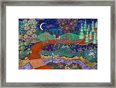 The Return Framed Print by Caroline  Urbania Naeem