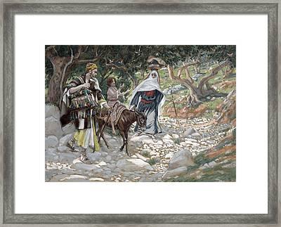 The Return From Egypt Framed Print by Tissot