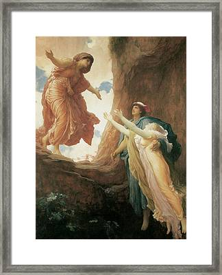 The Return Of Persephone Framed Print by Frederick Leighton