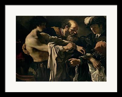 Iovanni Francesco Barbieri Framed Prints