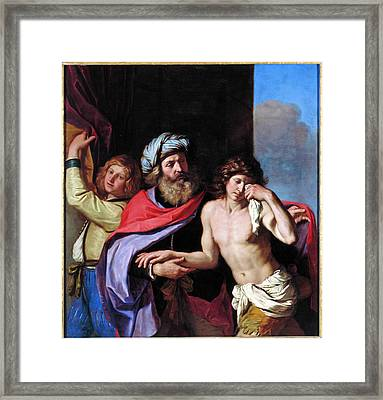 The Return Of The Prodigal Son Framed Print by Guercino