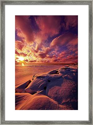 Framed Print featuring the photograph The Return by Phil Koch