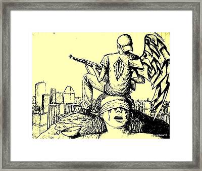 The Revolution Of Arms Framed Print by Paulo Zerbato