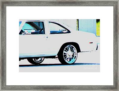 The Ride Framed Print by Amanda Barcon