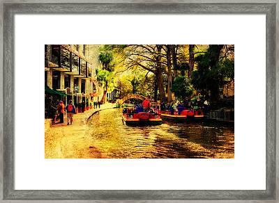 The Ride Framed Print by Iris Greenwell