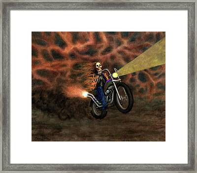 The Ride Out Of Bardo Framed Print by Bobby Beausoleil