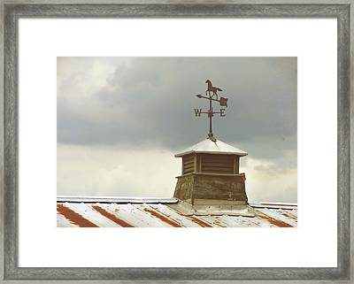 The Right Direction Framed Print by JAMART Photography