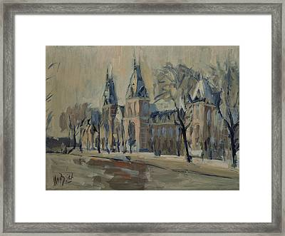 The Rijksmuseum After The Rain Framed Print
