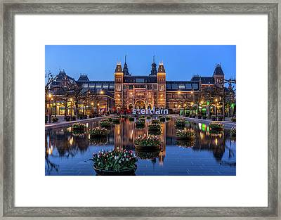 The Rijksmuseum, Amsterdam Framed Print by Reinier Snijders