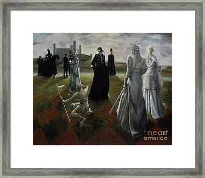 The Ringer Framed Print