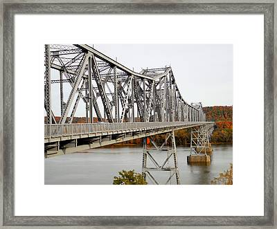 The Rip Van Winkle Bridge 5 Framed Print by Lanjee Chee