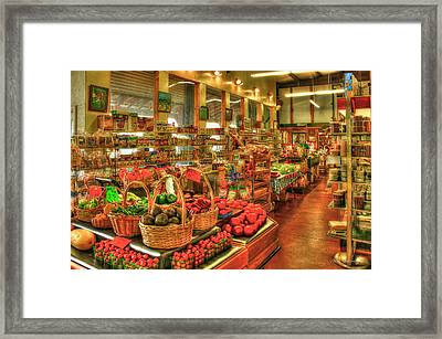 The Ripe Thing Greensboro Georgia Framed Print by Reid Callaway