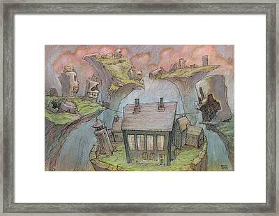 The Riptop Post Framed Print by Ethan Harris