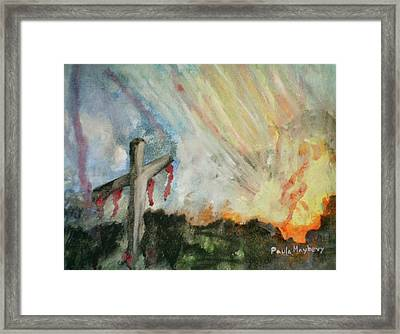 The Risen Christ Framed Print