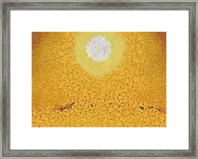 The Rising Framed Print by Dan Sproul