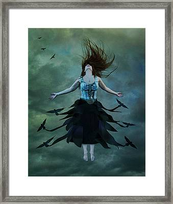 The Rising Framed Print