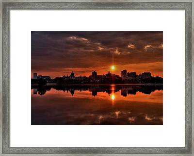 The Rising Of A New Day Framed Print by Sharon Batdorf