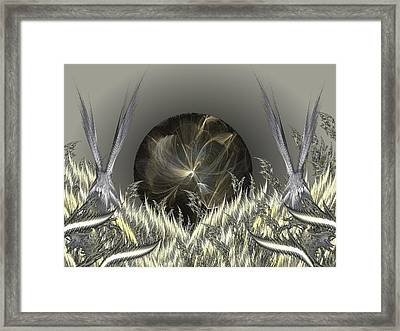 The Rising Framed Print by Ricky Kendall
