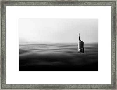The Rising Framed Print by Suraj1007