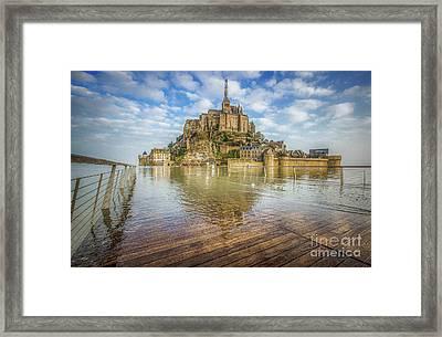 The Rising Tide Framed Print