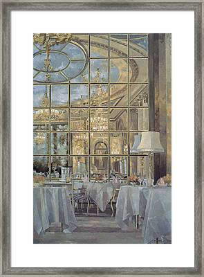 The Ritz Framed Print by Peter Miller