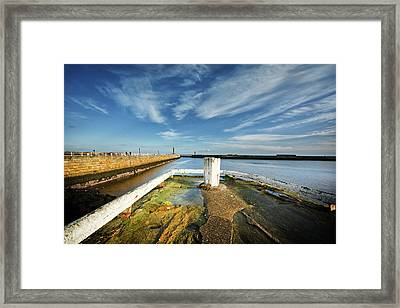 The River Esk Framed Print