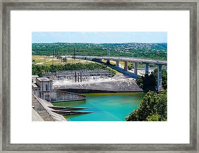 The River Flows Framed Print