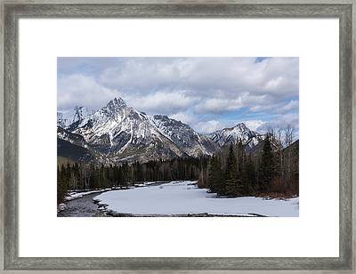 The River Framed Print