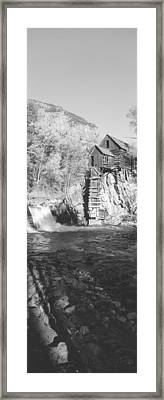 The River Mill At Crystal River Valley Framed Print by Panoramic Images