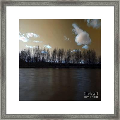 The River Of Dreams Framed Print by Angel Ciesniarska