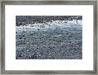 Framed Print featuring the photograph The River Of Youth by Helga Novelli
