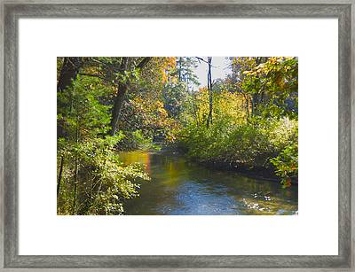 The River  Framed Print by Sheryl Thomas