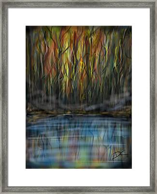 The River Side Framed Print