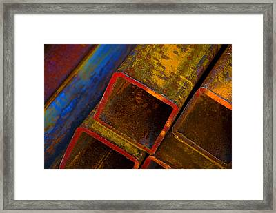 The River Framed Print by Skip Hunt