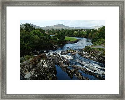 The River Sneem Framed Print by Joe Bonita