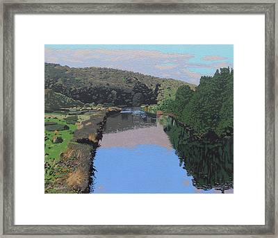 The River Tame Framed Print by Malcolm Warrilow
