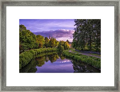 The River Tone Framed Print