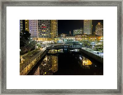 The River Walk Framed Print
