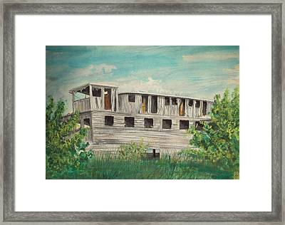 The Riverboat Majestic  Framed Print by Norman F Jackson