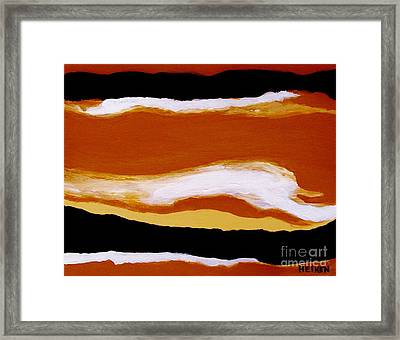 The Rivers Of Life Framed Print